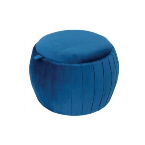 18404 Blue Footstool