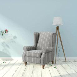 9054 Grey Armchair