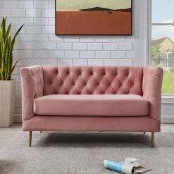Belle Pink Sofa