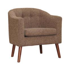 Tessa Rome Brown Chair