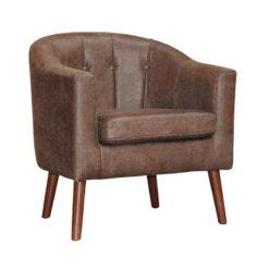 Tessa Vintage Brown Chair