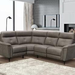 Archie Grey Corner Sofa