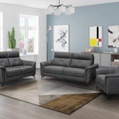 Archie Slate Sofa Suite