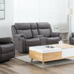 Erica Grey 2 Seater Sofa