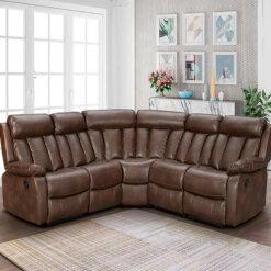 Janus Leathaire Corner Sofa