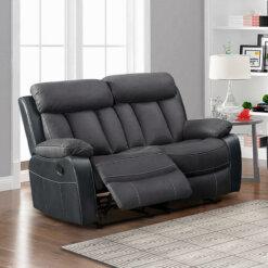 Janus Two Tone Slate 2 Seater Sofa
