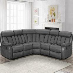 Janus Fabric Corner Sofa