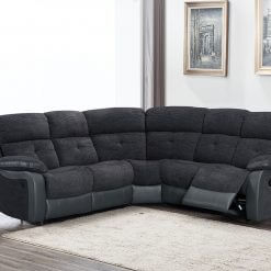 Kinsale Two Tone Grey Corner Sofa