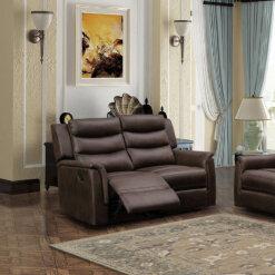 Oscar Brown 2 Seater Sofa