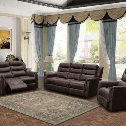 Oscar Brown Sofa Suite