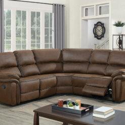 Preston Mocha Corner Sofa