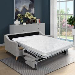 Robyn Grey 3 Seater Sofa Bed