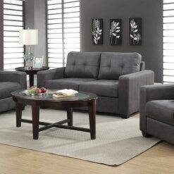 Rose Grey Sofa Suite