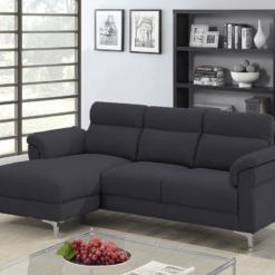 Roxy Dark Grey Corner Sofa