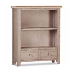 Salou 2 Drawer Low Bookcase