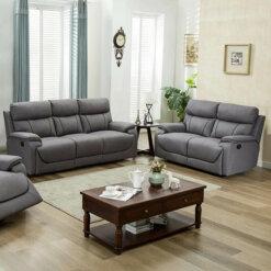Violet Light Grey 2 Seater Sofa