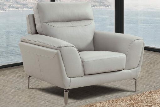 Vitalia 1 Seater Light Grey