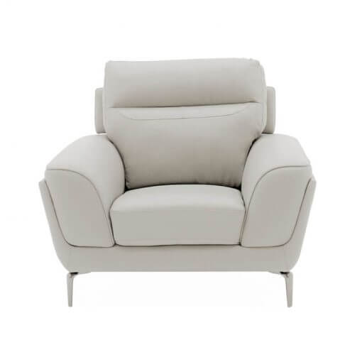 Vitalia 1 Seater Sofa Light Grey