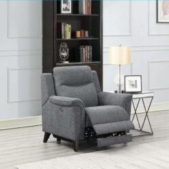 Yara 1 Seater Fabric Sofa