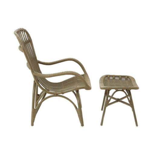 Havana Armchair & Footstool