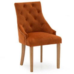 Hobbs Pumpkin Dining Chair