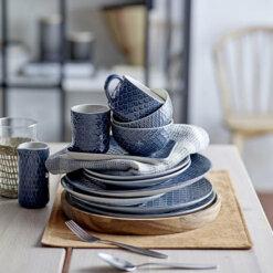 Naomi Blue Stoneware Mug