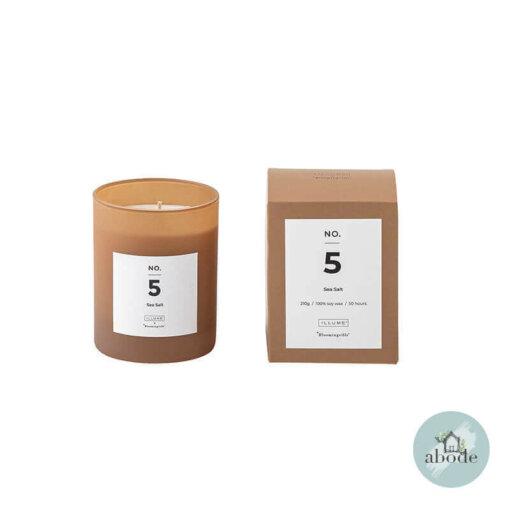 No. 5 Sea Salt Scented Candle