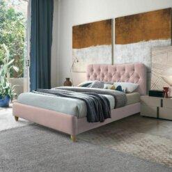 Suzie Pink Bed Frame