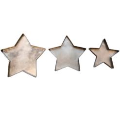 Star Plates Set of 3