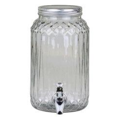 Glass Drinks Dispenser