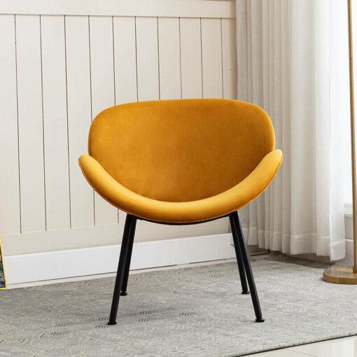 Martika Apricot Accent Chair