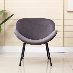 Martika Grey Accent Chair