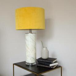 Abstract Mustard Lamp