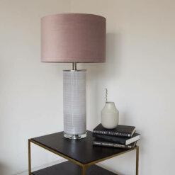 Ceramic Pink Lamp