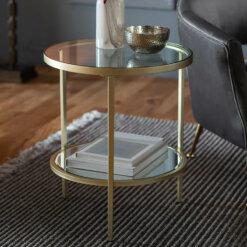 Hudson Side Table Champagne