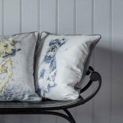 Schnauzer Watercolour Cushion