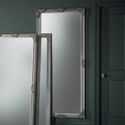 Fiennes Leaner Mirror Silver