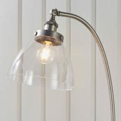 Hansen 1 Floor Light Brushed Silver