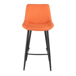 Isabella Orange Bar Stool