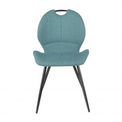 Toby Blue Fabric Chair
