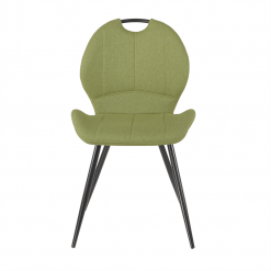 Toby Green Fabric Chair