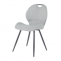 Toby Grey Fabric Chair