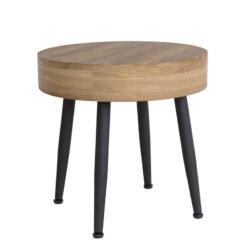 Verona Oak Lamp Table