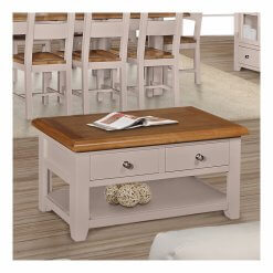 Victor 2 Drawer Coffee Table