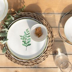 Eucalyptus Dinnerware