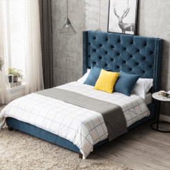 Chelmsford Navy Bed Frame